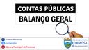 Certidão de disponibilização à população do Balanço Geral de 2017