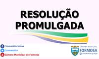 Resolução n.º 059/19
