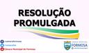 Resoluções Promulgadas em setembro de 2018