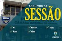 Sessão Ordinária do dia 14/09/2021