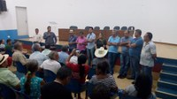 Vereadores acompanham evento sobre a Nova Feira Coberta