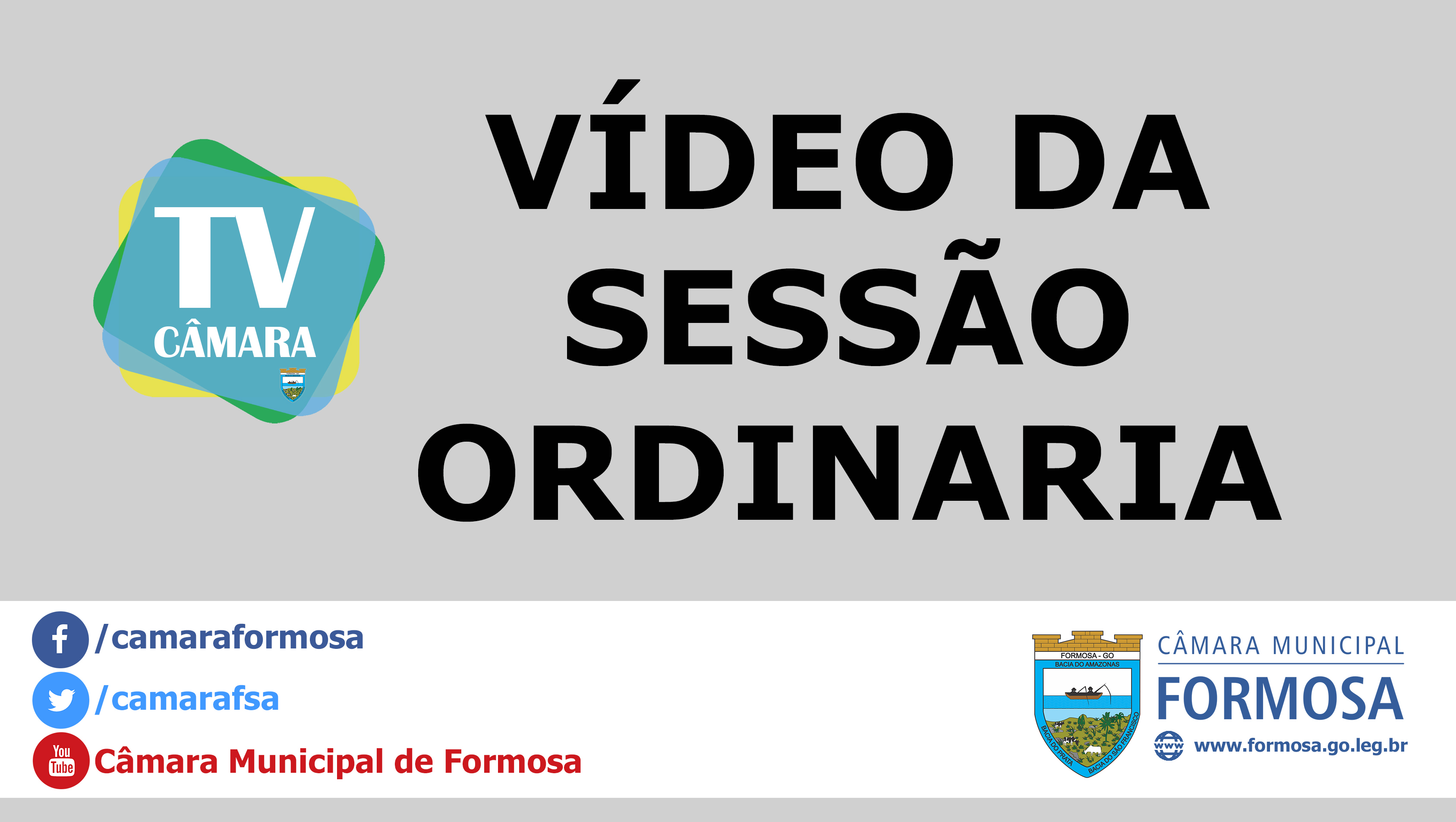 Vídeo da Sessão Ordinária do dia 03/10/18