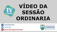 Vídeo da Sessão Ordinária do dia 15/08/19