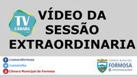 Vídeo das Sessões Extraordinárias do dia 07/08/18