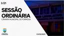 Sessão Ordinária do dia 3 de fevereiro de 2021